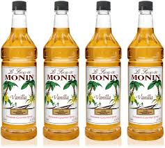 You can make it at home, but if you'd like to buy syrup, you're in luck! Amazon Com Monin Vanilla Syrup Versatile Flavor Great For Coffee Shakes And Cocktails Gluten Free Vegan Non Gmo 1 Liter 4 Pack Beverage Flavoring Syrup Grocery Gourmet Food