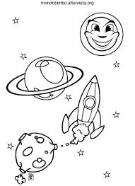Astronavi Da Colorare Mondo Bimbo