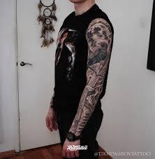 рукав чикано татуировки в анапе Rustattooru