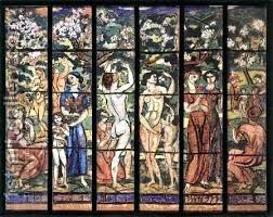 stained glass window design for the villa by reion oil painting on windows removable