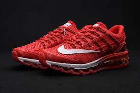 nike running shoes 2016 red. nike air max 2016 leather blue white running shoes red a