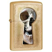 Купить <b>Зажигалка Zippo</b> 28540 <b>Keyhole</b> Skull