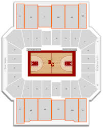 Boston College Basketball Conte Forum Seating Chart