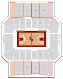 Conte Forum Interactive Seating Chart Boston College Basketball Conte Forum Seating Chart