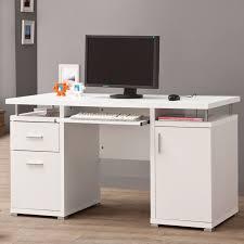 contemporary wood office furniture. Coaster Company Contemporary Wood Computer Desk (Cappuccino - Cappuccino Finish), Brown, Size Medium Office Furniture