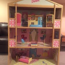 Find More Wooden Barbie Dream House With New Furniture And