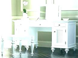 white makeup desk simple white wooden vanity makeup table with drawers vanities set lights bedroom white makeup desk with drawers on both sides