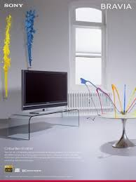 sony tv small. print ad by fallon london sony tv small