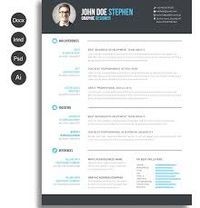 Free Resume Word Templates 2017 Luxury The Best Resume Templates For ...