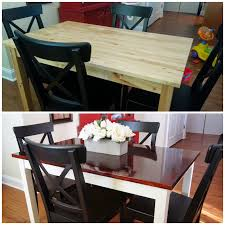 Kitchen Table Makeover Divinely Diy Dining Table Makeover