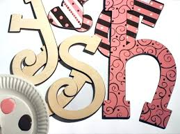 wood wall letters custom lettering com letter templates for painting making stencils spray painted wooden designs