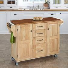 Granite Top Kitchen Cart Home Styles Create A Cart Natural Kitchen Cart With Black Granite