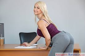 My first sex teacher blonde