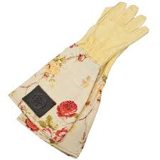small image of haws leather las fl gardening gloves handmade thornproof
