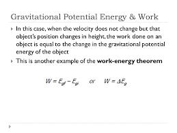 5 gravitational potential