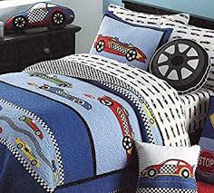 Amazon.com: LELVA Cars Boys Quilt Bedding,twin Size Kids Summer ... & LELVA Cars Boys Quilt Bedding,twin Size Kids Summer Bedspreads,100% Cotton  Mattress Adamdwight.com