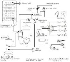 schematics diagrams and shop drawings shoptalkforums com basic system alternator toggle ignition switch
