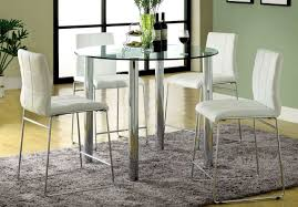 54 Tall Kitchen Tables Coaster Atlus 150097 5 Piece Counter Height