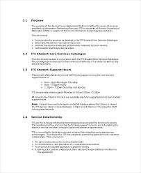help desk service level agreement template service level agreement 18 free pdf word psd documents