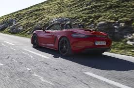 2018 porsche 0 60. delighful 2018 2018 porsche 718 boxster gts rear three quarters  in porsche 0 60