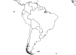 South America Blank Map Free Images At Clker Com Vector Clip Art