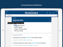 french english dictionary pro on the app