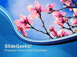 Spring Powerpoint Theme Of Spring Beauty Of Nature Powerpoint Templates Ppt