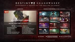 Bungie Reveals Destiny 2 Shadowkeeps Calendar Polygon