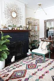 living room rugs modern moroccan rug modern living room decor habitat