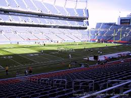 Sports Authority Field Mile High Stadium Seating Chart Denver Broncos Seating Tehnostroy Info