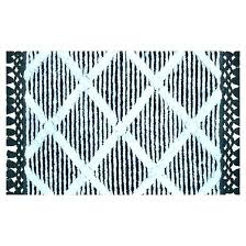 post black white bath rug striped and bathroom rugs set mat sets