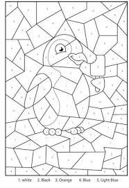 Browse and print these coloring pages to help kids practice skills like number kids love to color by numbers and we've got a bunch for you to choose from. Free Printable Penguin At The Zoo Colour By Numbers Activity For Kids By Resourceful123 Preschool Activity Sheets Numbers For Kids Color By Number Printable