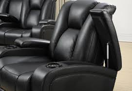 Storage In Arms Recliner With Cup Holder And Storage C14