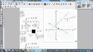 solving simultaneous equations using graphical method two methods of graphing line