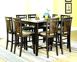 tall black kitchen table high top gloss home design