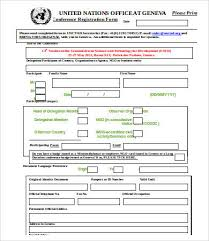 printable registration form template 10 printable registration form templates free sample exmaple