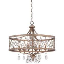 west liberty 6 light olympus gold chandelier