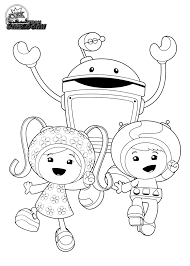 Small Picture Coloring Pages Team Umizoomi Coloring Pages Print Coloring