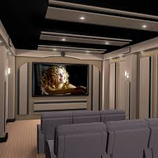 Modern Home Theater Home Planning Ideas - Interior design for home theatre