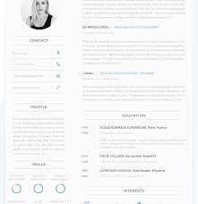 Curriculum Vitae Templates Free Download Fascinating Bestsume Format