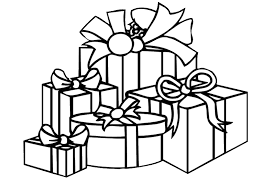 Small Picture Coloring Pages Of Christmas Gifts Maelukecom