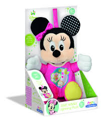 Clementoni Cuddly Toy With Music And Light Minnie Mousepink