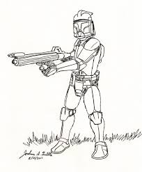 Small Picture Star Wars Clone Trooper Coloring Page 28981 Bestofcoloringcom