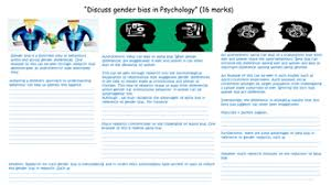 issues and debaevaluating gender bias psychology aqa a new essay sheet a3 pptx