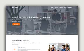 Edusite Free Html5 Bootstrap Education Template With Simple Layout