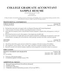 Sample College Student Resume Impressive Decoration Recent Graduate