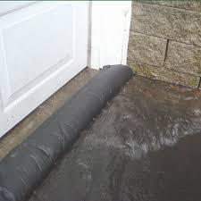 garage door flood barrierQuick Dam Flood Barrier Socks are an Effective Solution For Flood