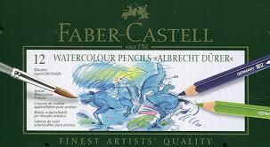 Faber Castell 117512 Crayons De Couleur Aquarellables Albrecht