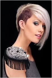 trendy blunt short haircuts platinum blonde hairstyles