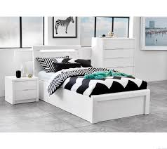 Kids Bedroom Furniture Brisbane Rockhampton White Gloss Gaslift Bed